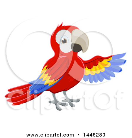 Scarlet Macaw clipart #7, Download drawings
