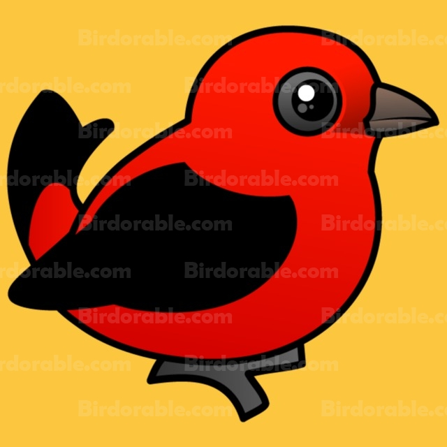 Scarlet Tanager clipart #13, Download drawings