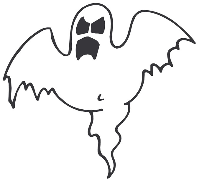 Scary clipart #5, Download drawings