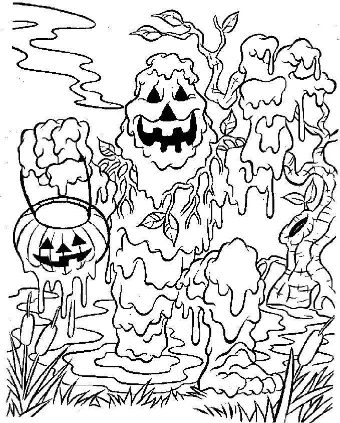 Scary coloring #15, Download drawings