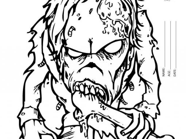 Scary coloring #5, Download drawings