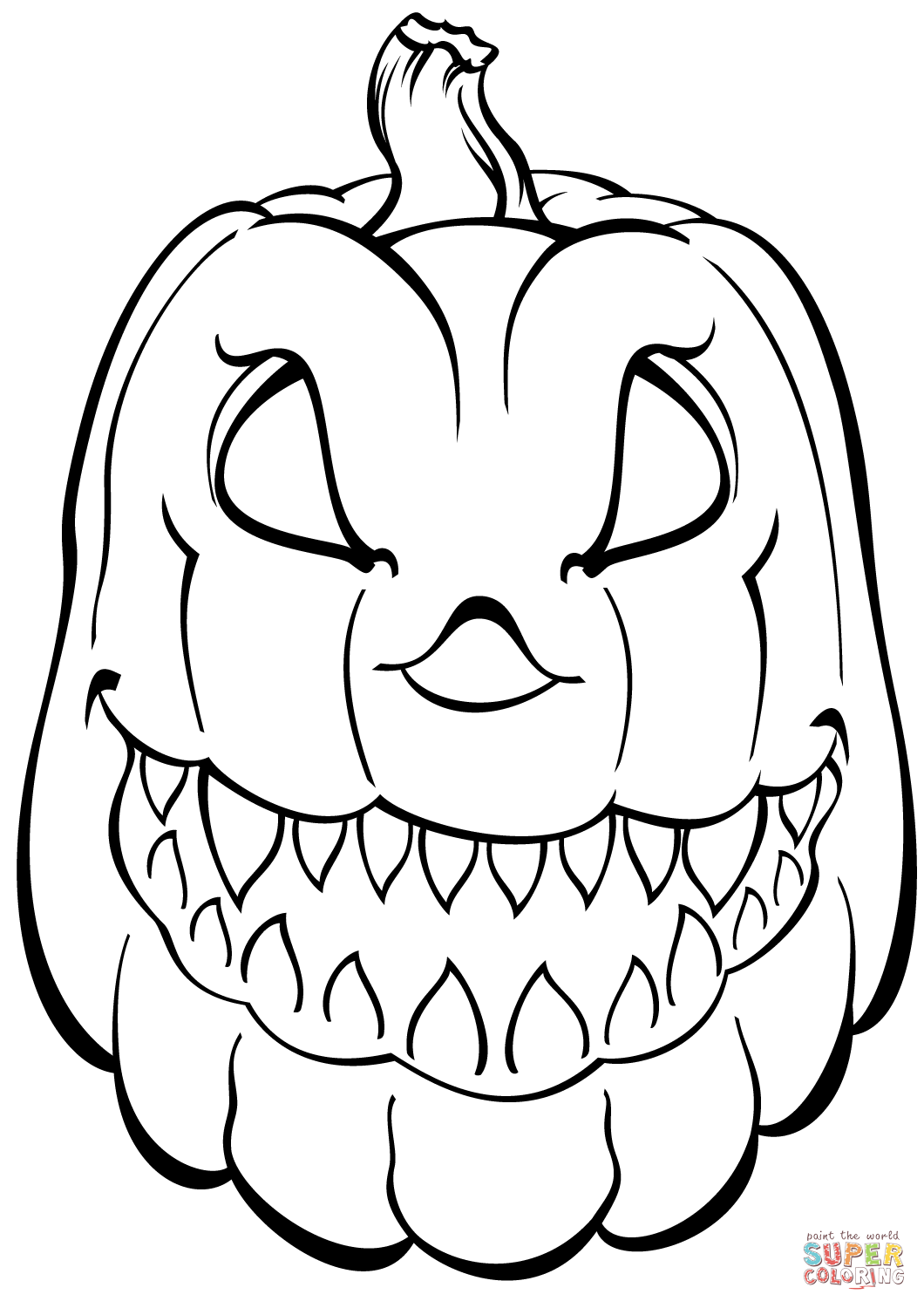 Scary coloring #16, Download drawings