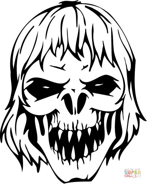 Scary coloring #13, Download drawings