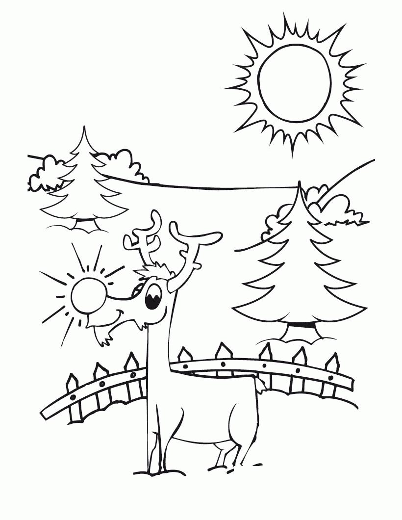 Scenery coloring #19, Download drawings