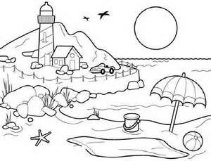 Scenery coloring #3, Download drawings