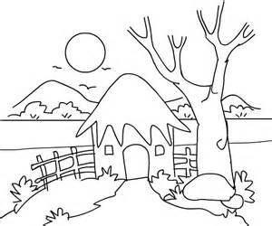 Scenery coloring #8, Download drawings
