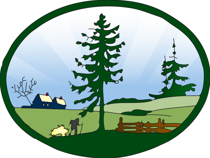 Scenic clipart #2, Download drawings