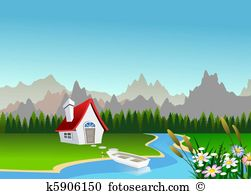 Scenic clipart #8, Download drawings
