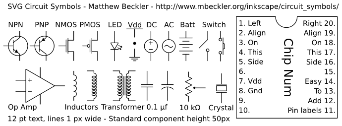 Physics Classroom Circuit Symbols and Circuit Diagrams - induced.info