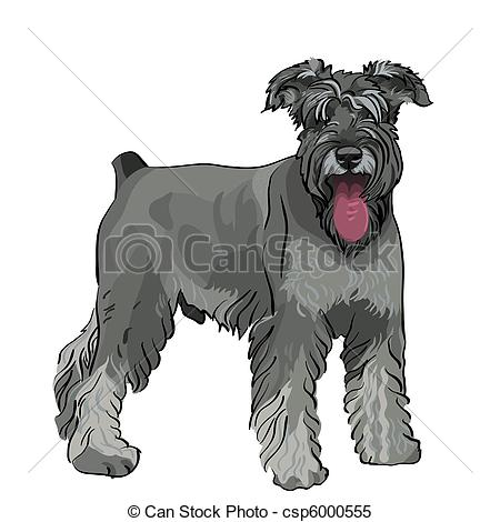 Schnauzer clipart #12, Download drawings