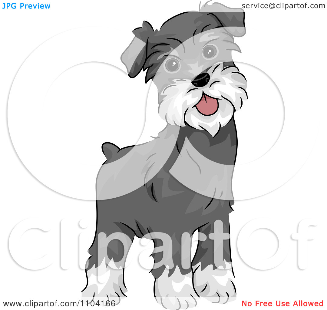 Schnauzer clipart #16, Download drawings
