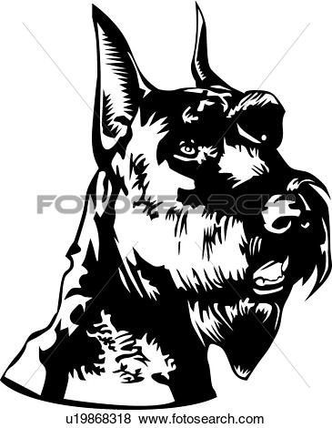 Schnauzer clipart #15, Download drawings