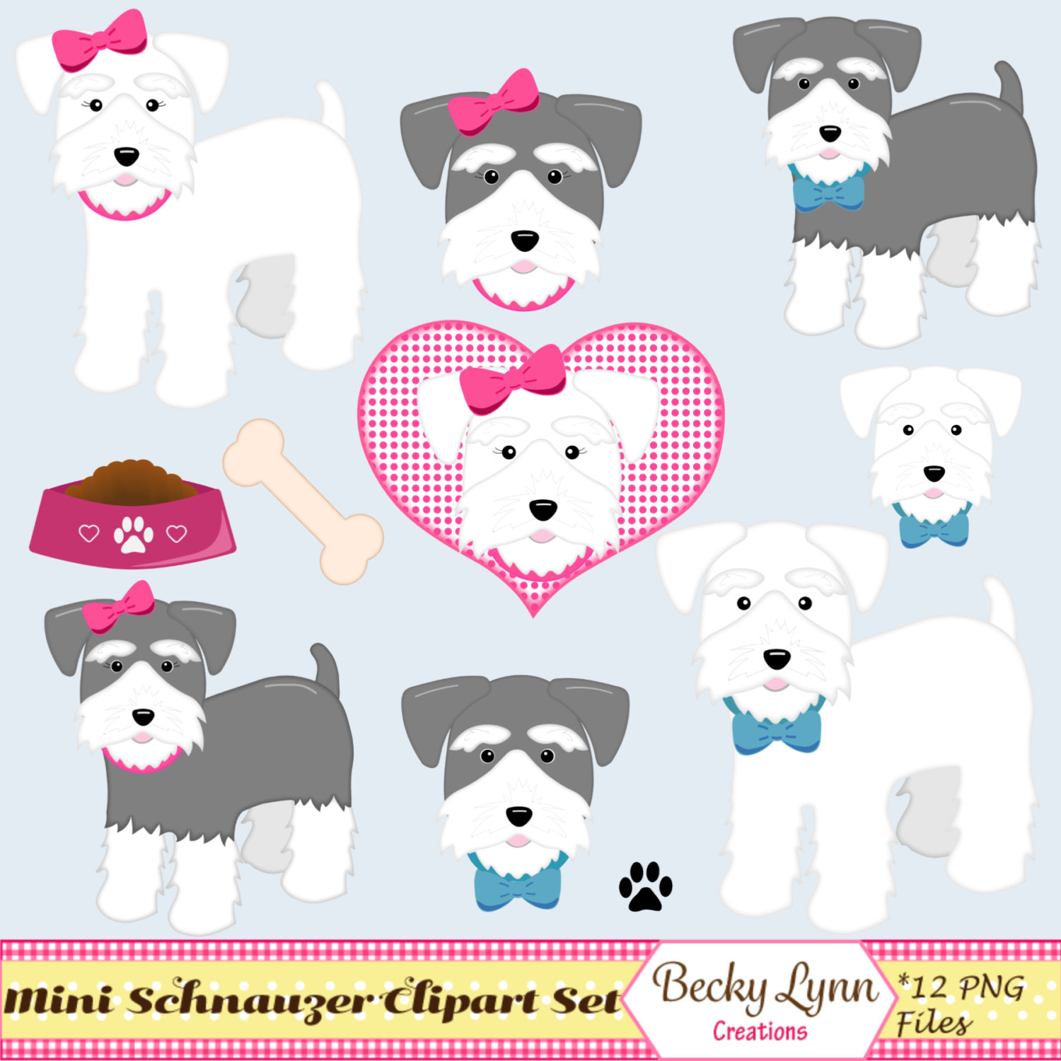 Schnauzer clipart #17, Download drawings
