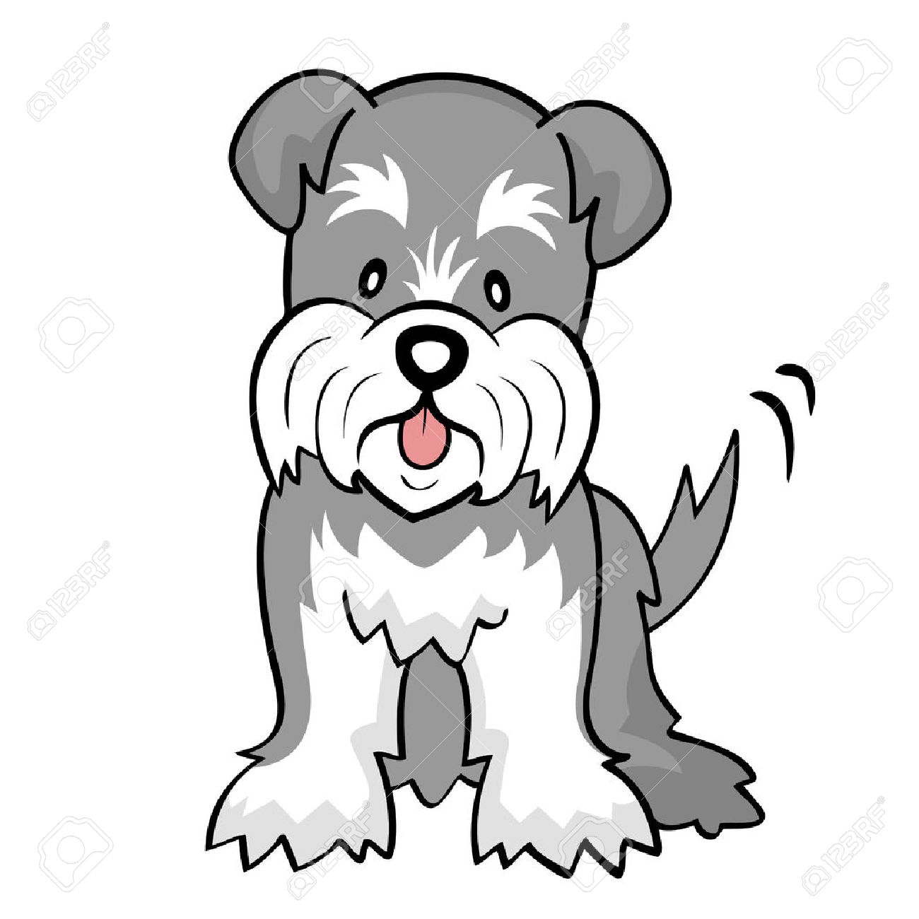Schnauzer clipart #10, Download drawings