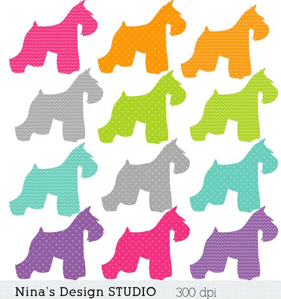 Schnauzer clipart #19, Download drawings