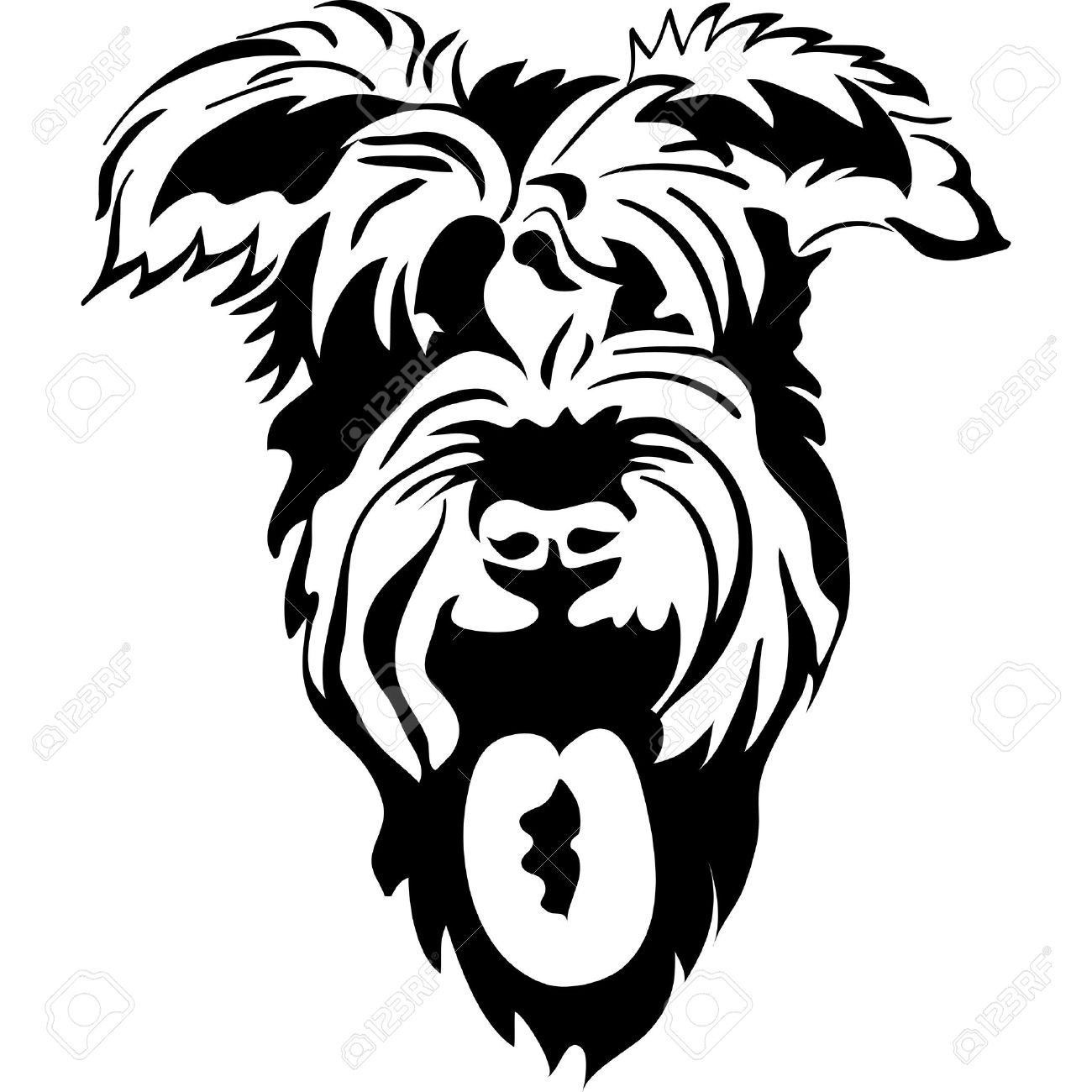 Schnauzer clipart #13, Download drawings
