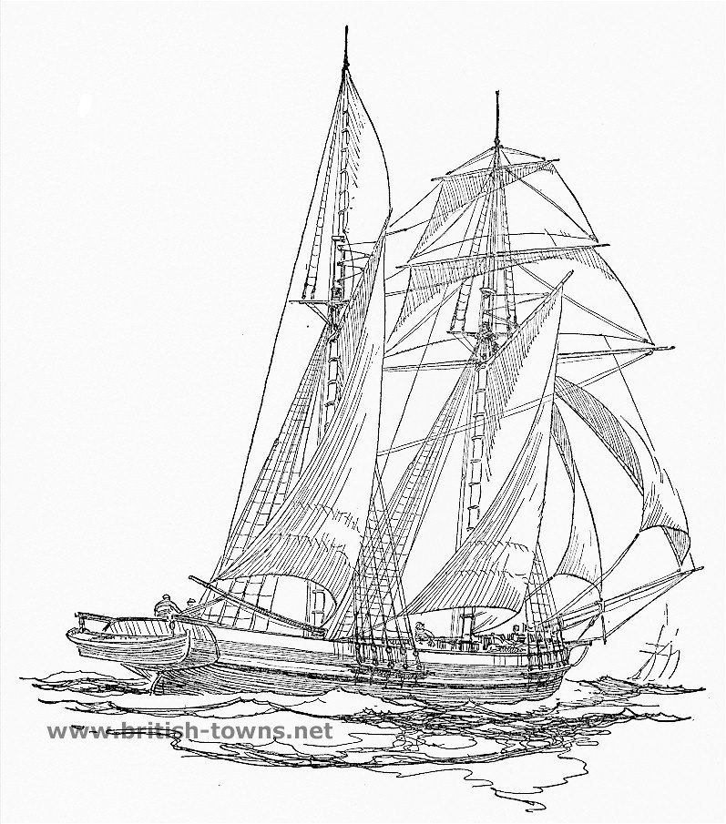 Schooner coloring #8, Download drawings