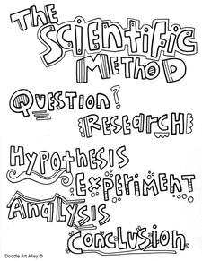 Scientific coloring #11, Download drawings