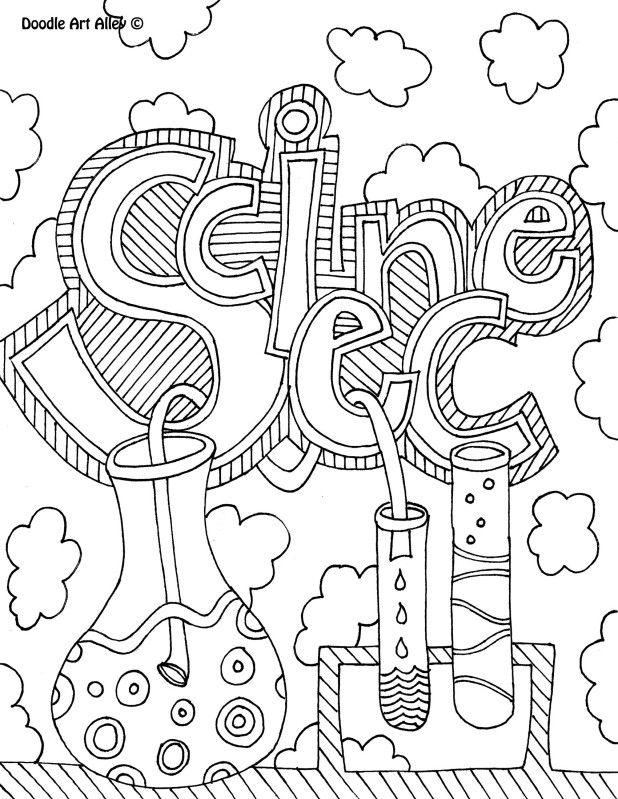Scientific coloring #13, Download drawings