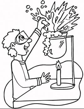 Scientific coloring #14, Download drawings