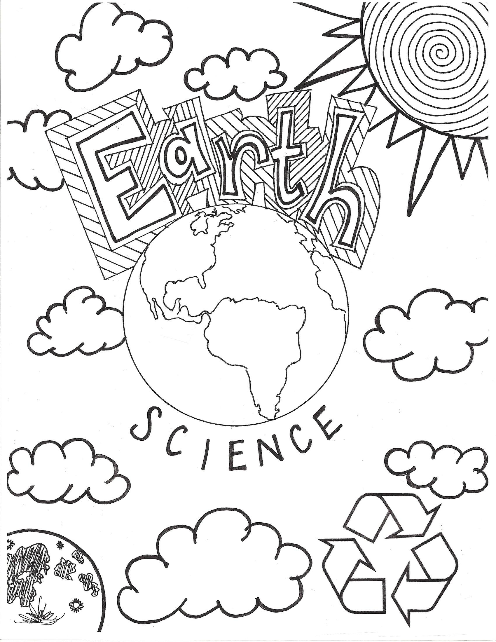 Scientific coloring #1, Download drawings