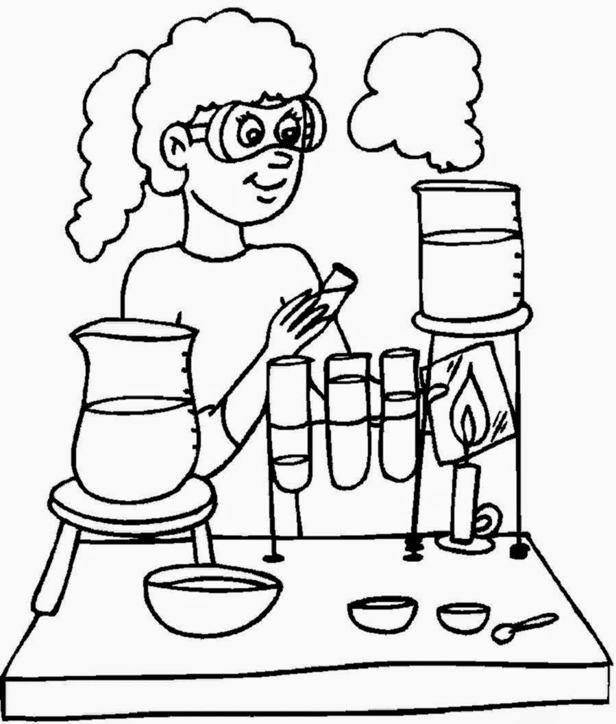 Scientific coloring #17, Download drawings