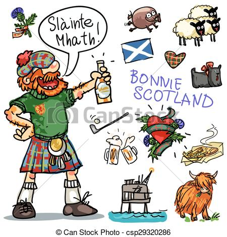 Scotland clipart #1, Download drawings