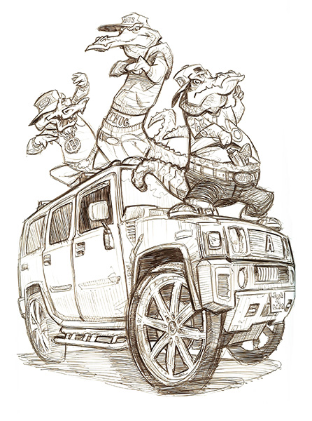 Scott M. Fischer coloring #17, Download drawings