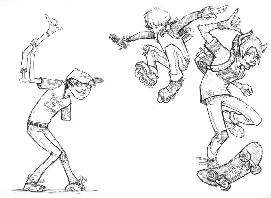 Scott M. Fischer coloring #18, Download drawings