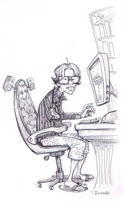 Scott M. Fischer coloring #10, Download drawings