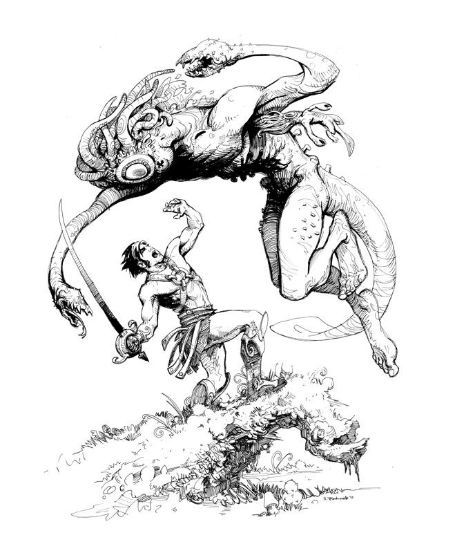 Scott M. Fischer coloring #11, Download drawings