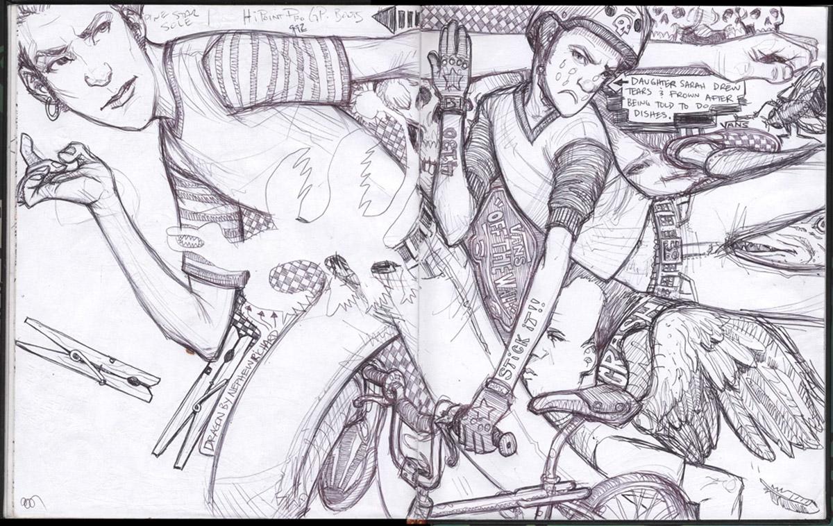 Scott M. Fischer coloring #9, Download drawings
