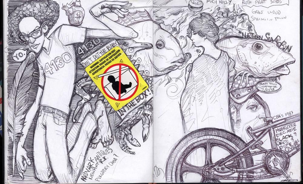 Scott M. Fischer coloring #14, Download drawings