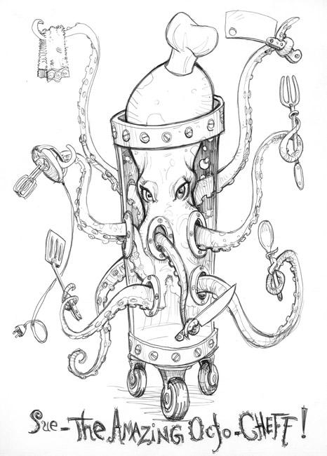 Scott M. Fischer coloring #13, Download drawings