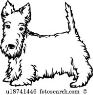 Scottish Terrier  clipart #6, Download drawings