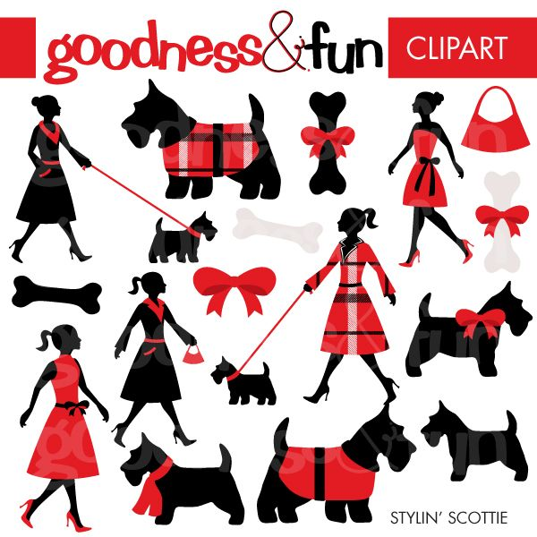 Scottish Terrier  clipart #14, Download drawings