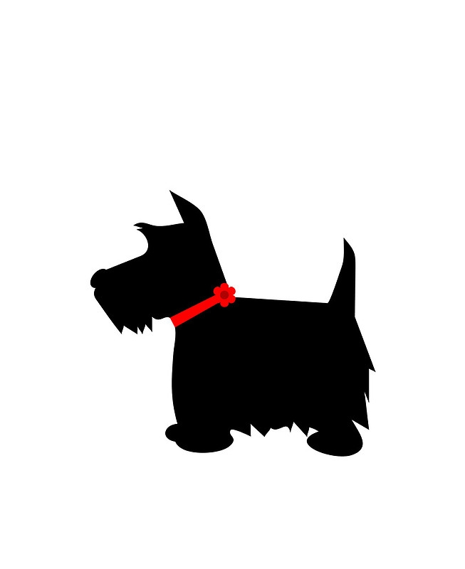 Scottish Terrier  clipart #8, Download drawings