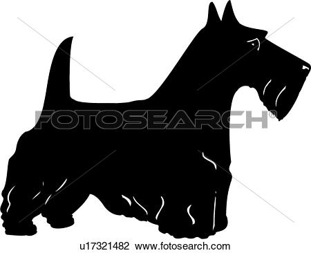 Scottish Terrier  clipart #11, Download drawings