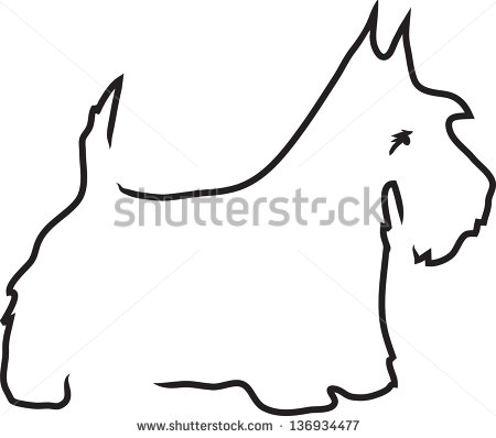 Scottish Terrier  clipart #19, Download drawings