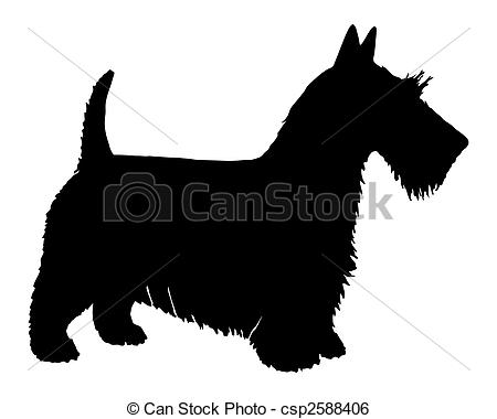 Scottish Terrier  clipart #12, Download drawings