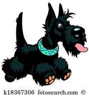 Scottish Terrier  clipart #5, Download drawings
