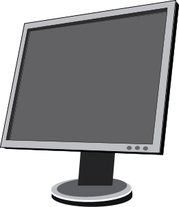 Screen clipart #11, Download drawings
