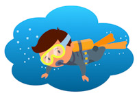 Diving clipart #6, Download drawings