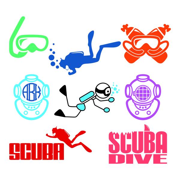 Scuba Diver svg #9, Download drawings
