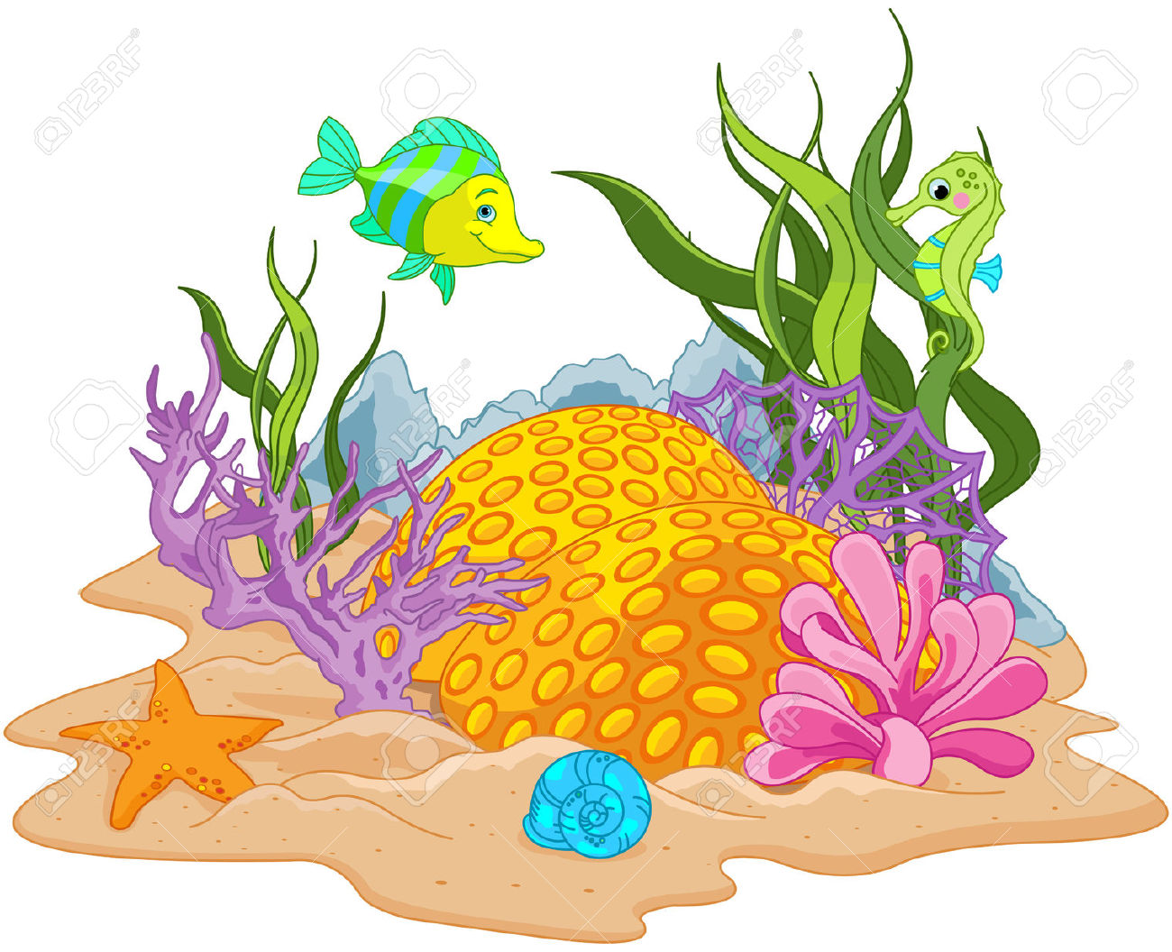 Sea Bed clipart #12, Download drawings