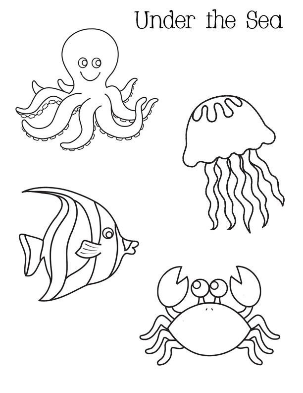 Sea coloring #11, Download drawings