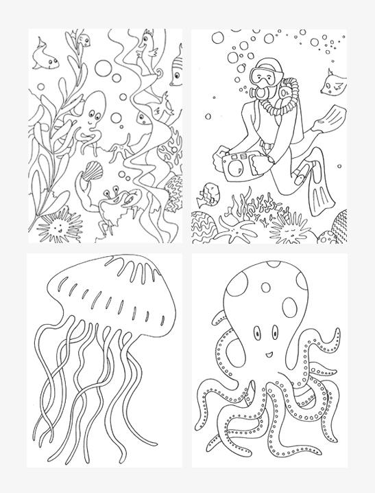 Sea coloring #19, Download drawings