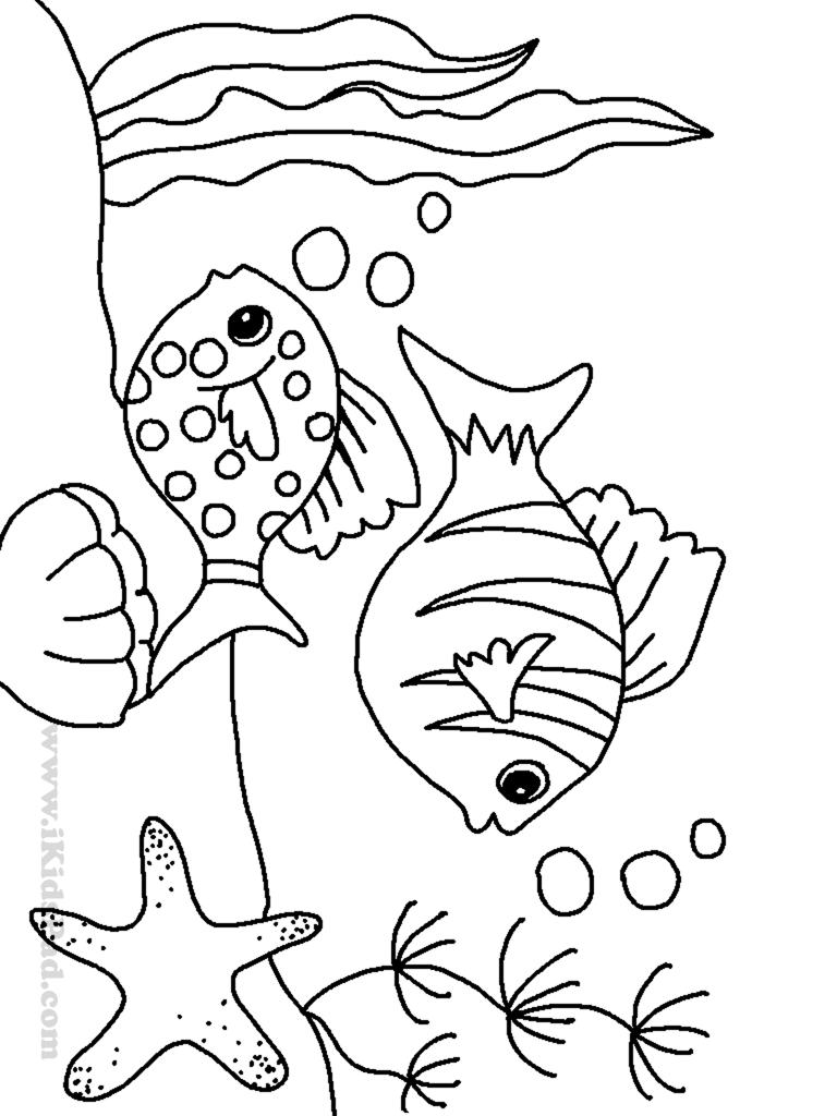 Sea coloring #10, Download drawings