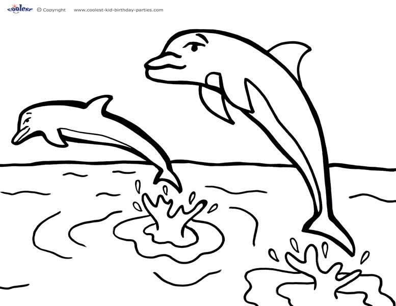 Sea coloring #4, Download drawings