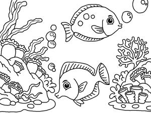 Sea coloring #7, Download drawings